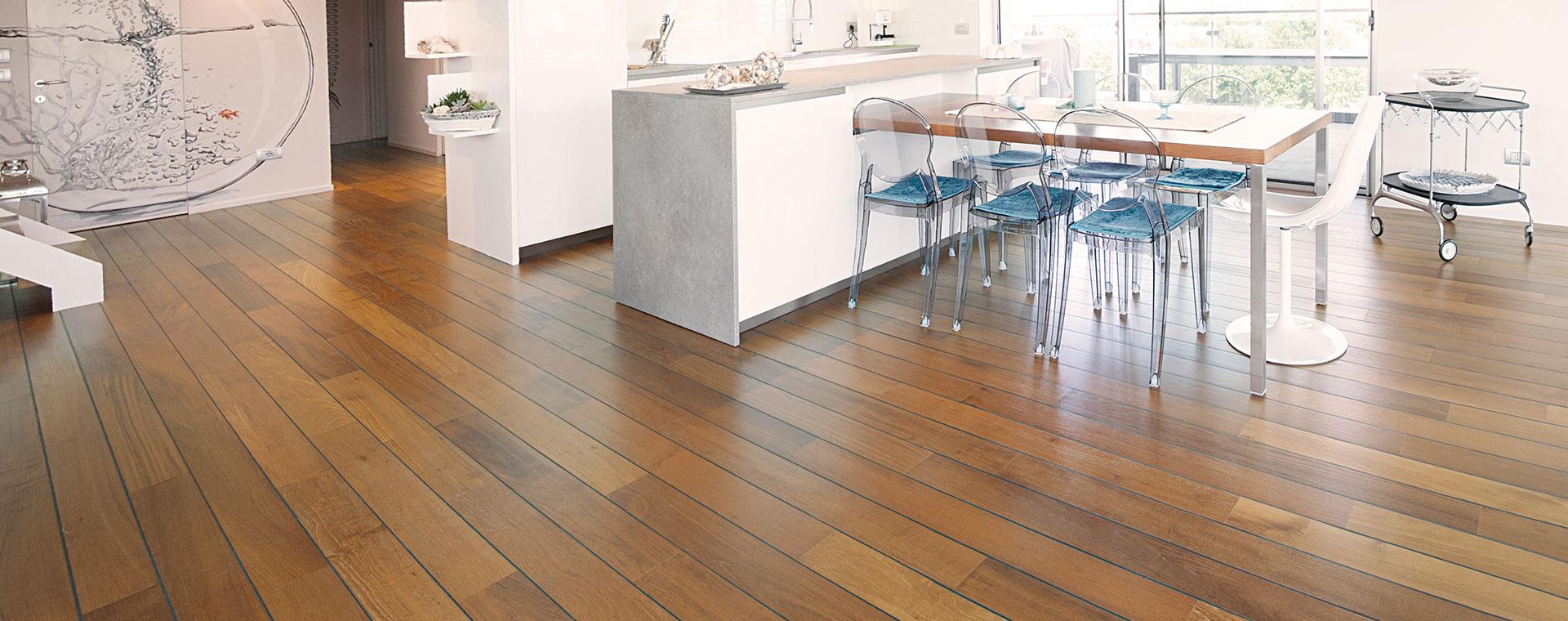 Pavimenti in legno moderni - Piastrelle autoadesive per bagno ...